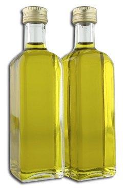 botellas aceite de oliva