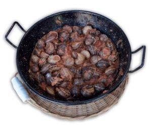 Arroz al horno con pasas y tomates de El Perelló 8