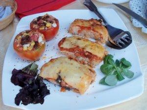 Arroz al horno con pasas y tomates de El Perelló 9