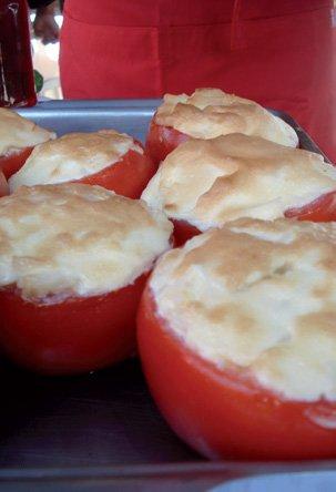 Tomates Gratinados 2