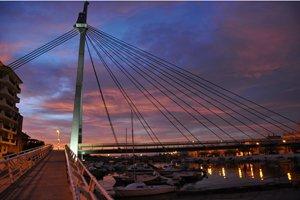 puente del canal de el Perelló