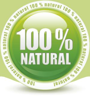 100% natural y ecologico